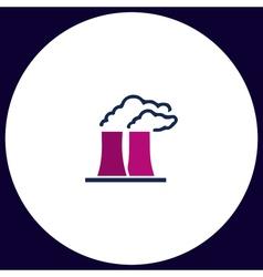 Bad factory computer symbol vector