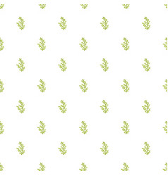 Cypress leaf pattern seamless vector