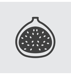 Fig icon vector image