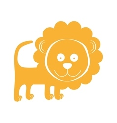 Animal cartoon icon image vector