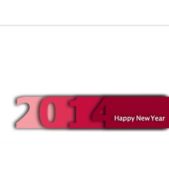 Happy-New-Year-2014 vector image