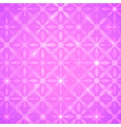 Pink abstract shining background vector image