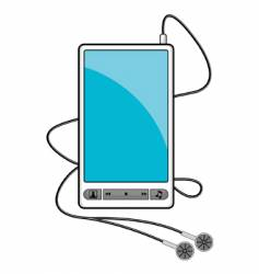 Mp3 music player vector