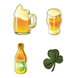 Beer set vector