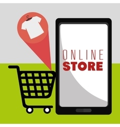 Marketing online and ecommerce sales vector