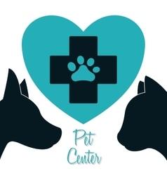 Animals pet shop graphic vector image vector image