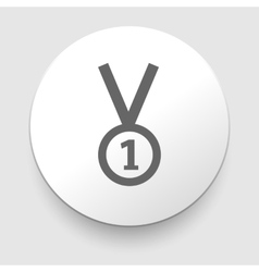1st Position Medal Icon - vector image