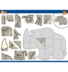 Jigsaw puzzle task vector