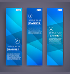 Abstract banners eps10 backgrounds vector