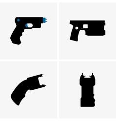 Electroshock weapons vector