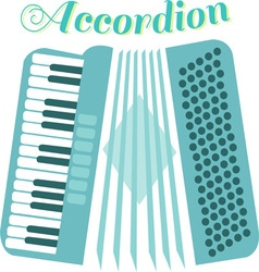 Musical accordion vector