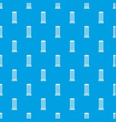 Column pattern seamless blue vector