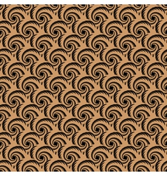 Design seamless spiral whirl pattern vector