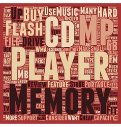 Hot mp3 players text background wordcloud concept vector