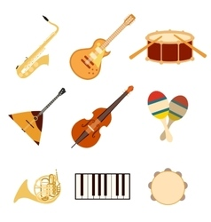 Set of music icons3 vector