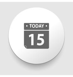 Calendar organizer - vector image