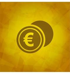Euro Icon vector image vector image