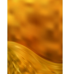 Gold color abstract stripe background EPS 8 vector image vector image
