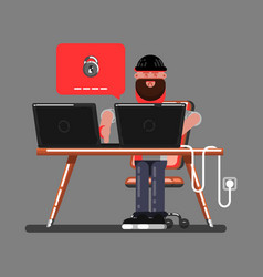 Hacker cant hack vector