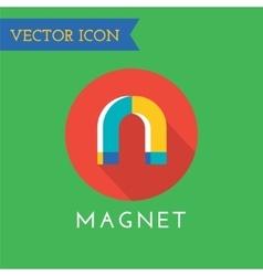 Magnet icons set shop money or commerce vector