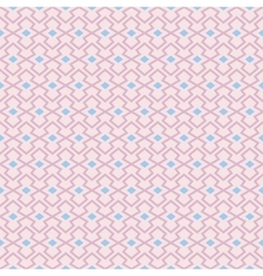 Pastel retro different seamless pattern vector image vector image