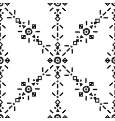 Tribal Hand Drawn Background vector image