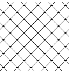 Oval line geometric seamless pattern 4211 vector image
