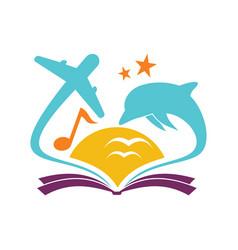 Book education vector