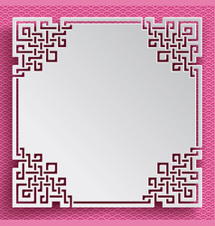 chinesenewyearpaper21 vector image vector image