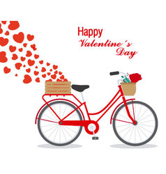 Great card for Valentines Day vector image vector image