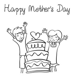 Happy mother day style design collection vector