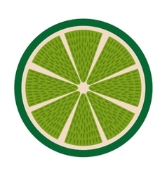 lemon fresh fruit icon vector image