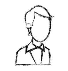 Portrait business man professional work image vector