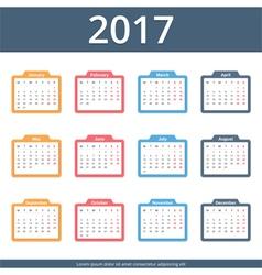 4671 - calendar 2017 12 1 expanded vector