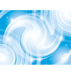Abstract shiny light blue background vector