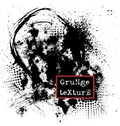 Grunge texture Abstract template vector image vector image