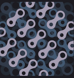 pattern with abstract figures vector image vector image
