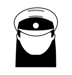 woman taxi driver avatar vector image vector image