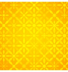 Yellow abstract shining background vector image