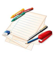 School materials vector