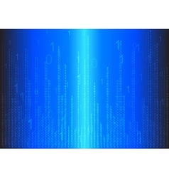 Binary abstract background vector