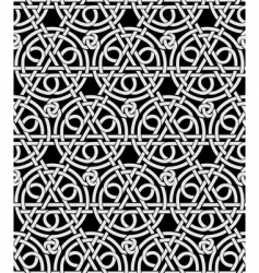 Celtic ornament background vector