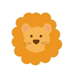 Lion icon animal design graphic vector