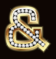 and bling vector image vector image