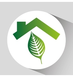 Concept environment leaf nature icon graphic vector