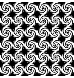 Design seamless spiral trellis background vector image vector image