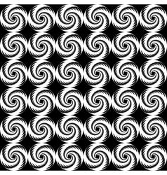 Design seamless spiral trellis background vector