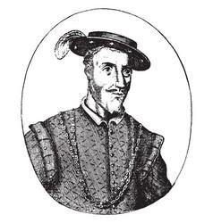 Juan de grijalva vintage vector