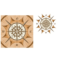 medieval compass vector image