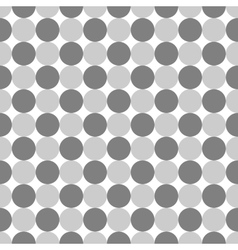 Polka dot geometric seamless pattern 4411 vector